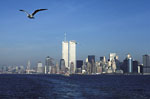 New-York City - Manhattan skyline with twin towers