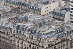 Paris - Haussmanian rooftops