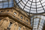 Milano - Glass dome from galleria Vittorio Emanuele II