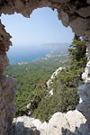 Monolithos - View from an old fortress