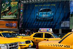 New-York City - Ads & Taxis at Time Square
