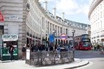 London - Tube & Bus at Piccadilly Circus