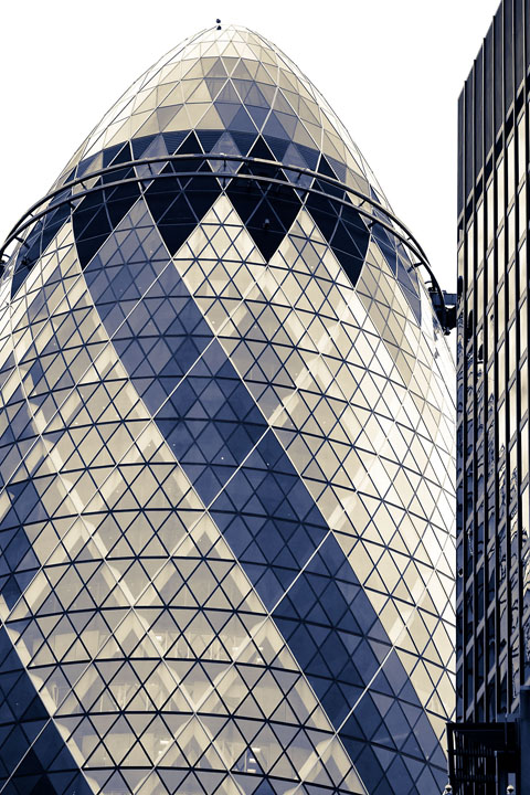 Gherkin on the Launch Pad - UK/England - London - April 2012 - Architecture