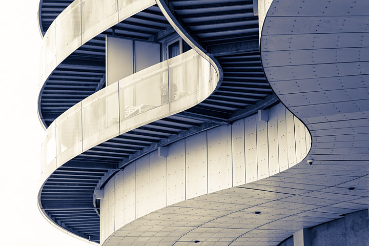 Curved Balconies - Denmark - Copenhaguen - May 2016 - Graphical